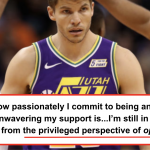 NBA's Kyle Korver Reflects On His White Privilege And Racial Inequality In A Personal Essay