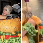Jennifer Lopez Walked In On Katy Perry Dressing Up As A Burger At The Met Gala