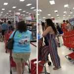Target Registers Crash Leading To Long Lines Across The US