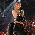 Miley Cyrus Sings Her Heart Out at iHeartRadio Music Festival After Kaitlynn Carter Breakup