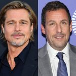 Brad Pitt & Adam Sandler Go to Great Lengths to Avoid Being Recognized