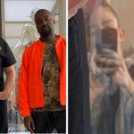 Grimes Is Trending On Twitter Because Her Reflection Appears In A Picture She Took Of Kanye West And Elon Musk