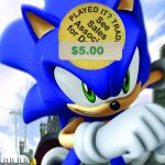 Sonic the Hedgehog (2006) was an embarrassing 15th birthday present